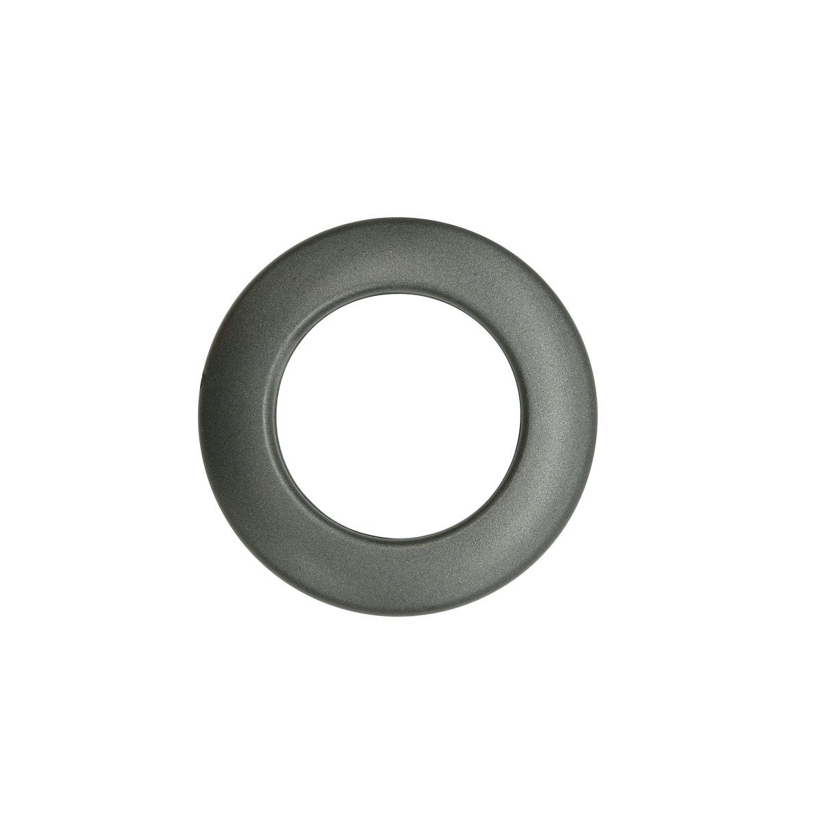 Люверс шторный, d 35 мм, графит (06), упак./10 шт., Belladonna