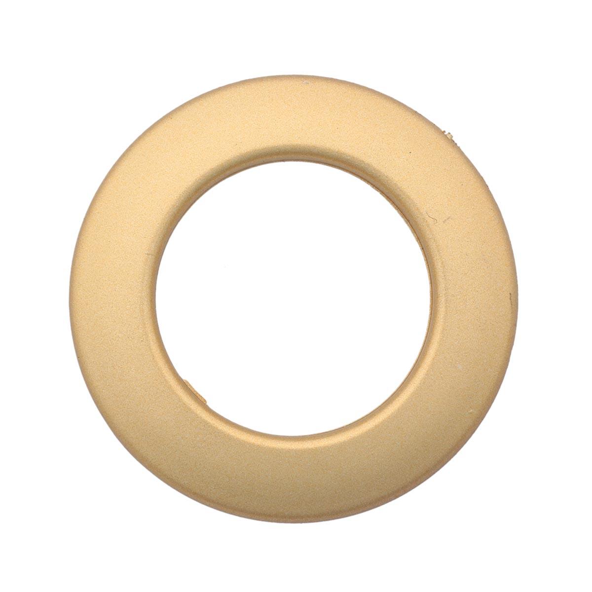 Люверс шторный, d 35 мм, мат. золото (11), упак./10 шт., Belladonna