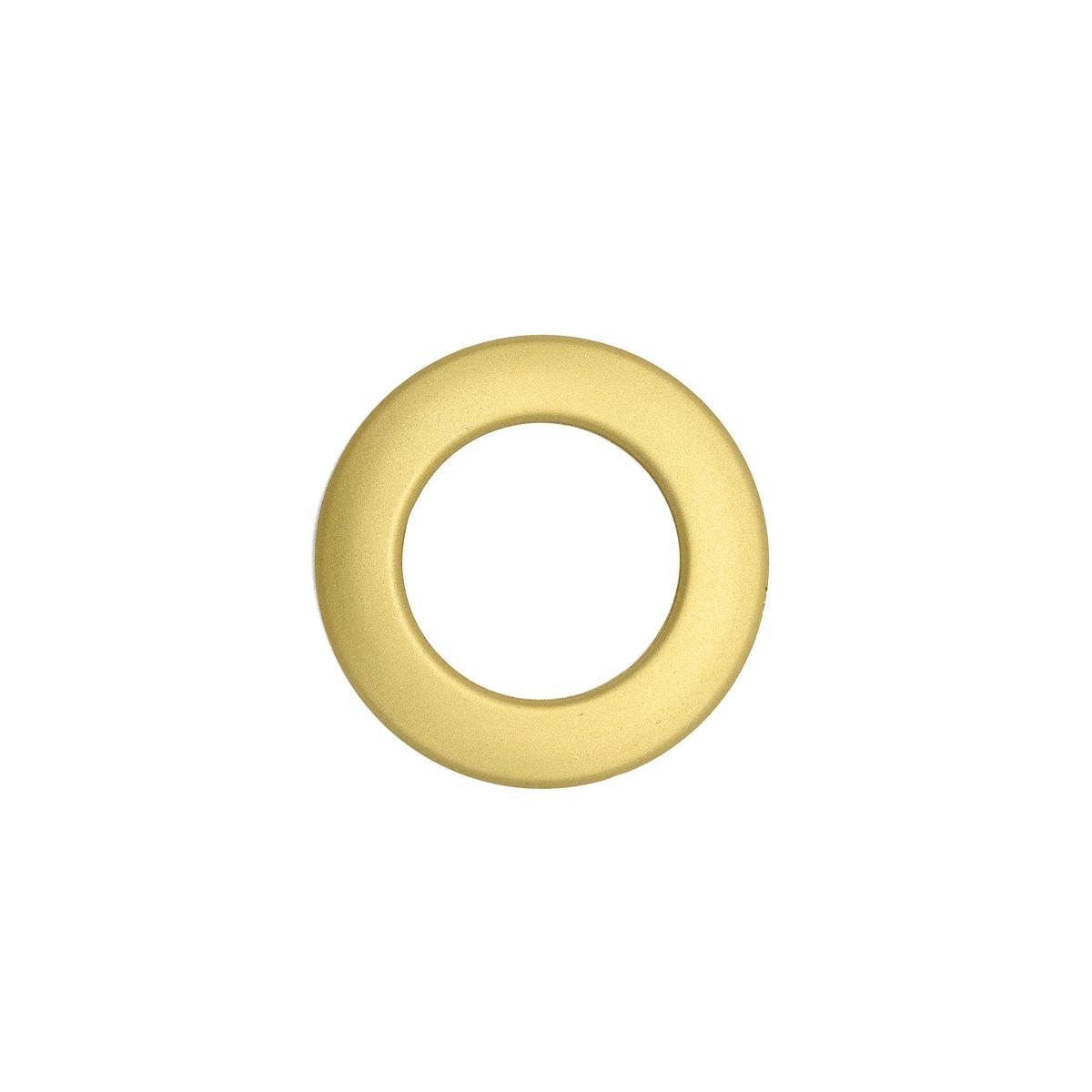 Люверс шторный, d 35 мм, мат. золото (12), упак./10 шт., Belladonna