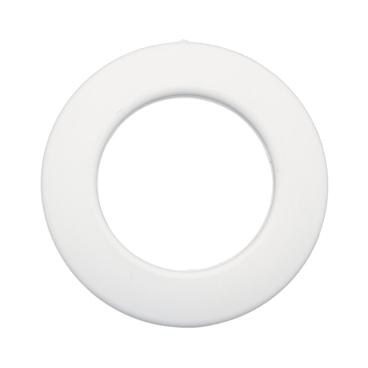 Люверс шторный, d 35 мм, белый (23), упак./10 шт., Belladonna