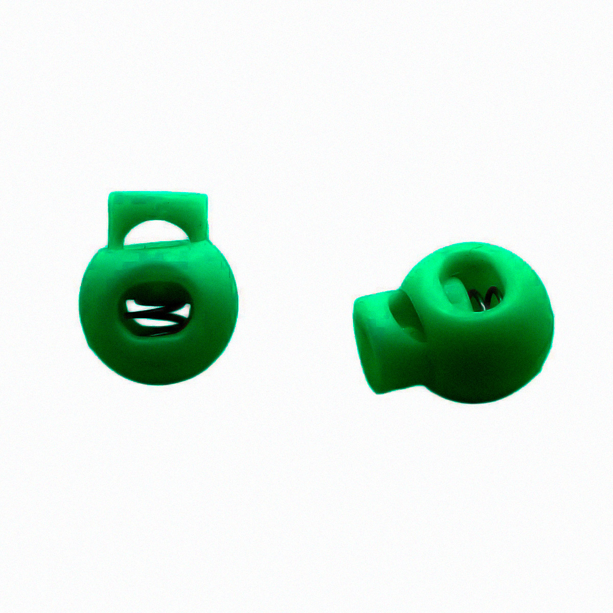 0305-3129 Стопор 'Шар' d=7мм, 17мм, пластик (С890 зеленый) фото