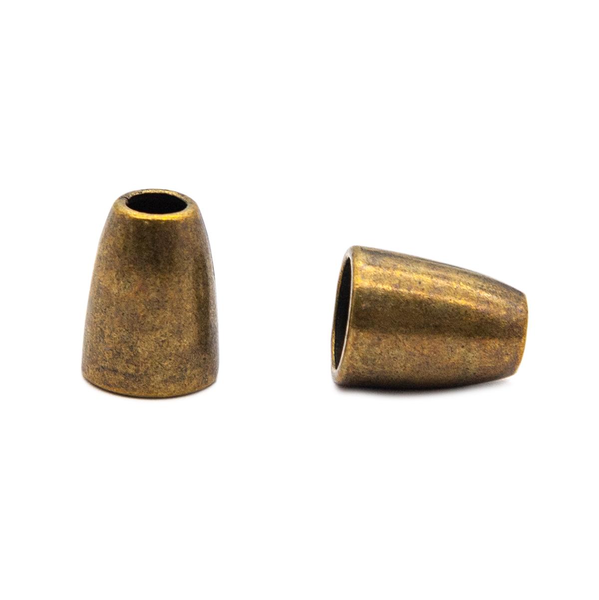 0305-5018 Наконечник 'Колокол' d=4/8мм, 14*10мм, металл