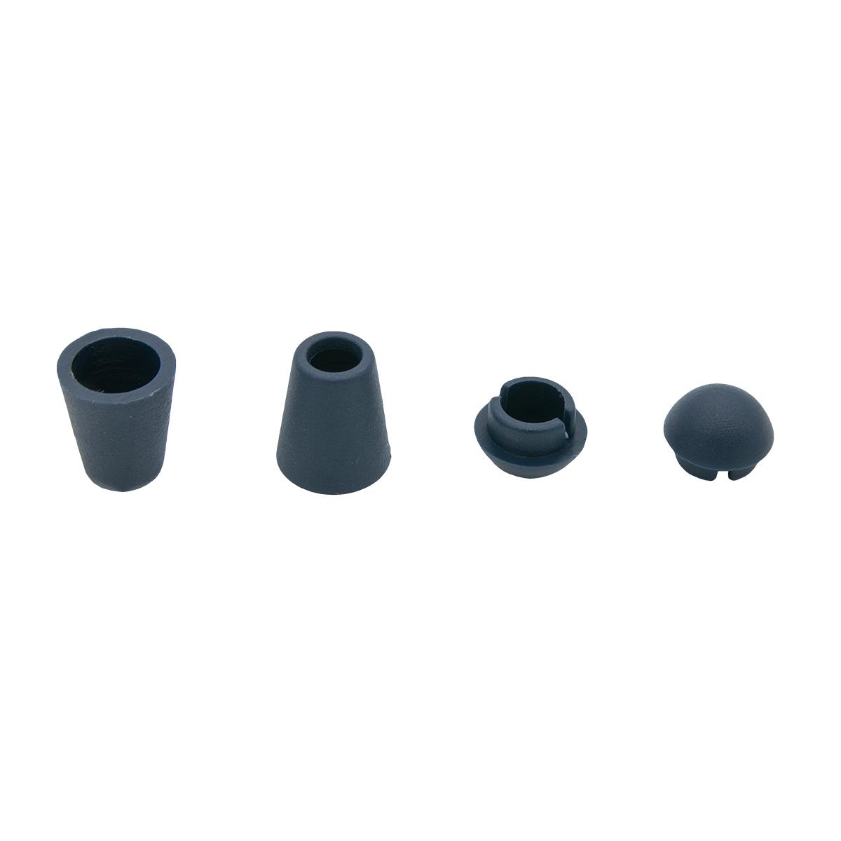 0305-3256 Наконечник 'Колокол' d=4,5/8мм, 13*11мм, пластик