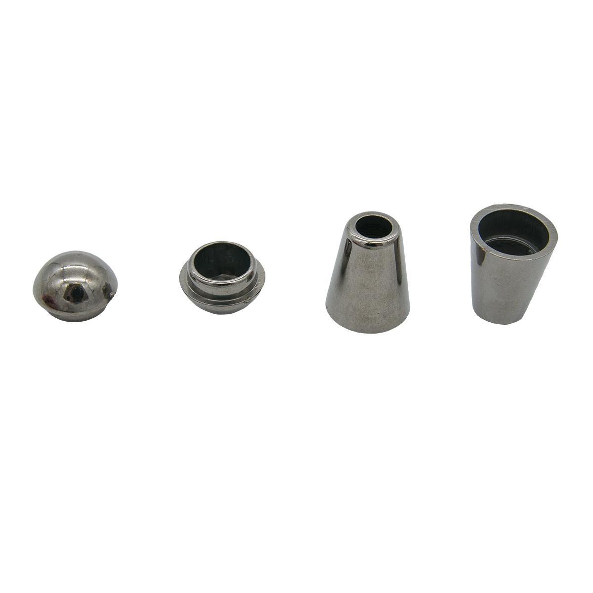 0305-3256 Наконечник 'Колокол' d=5/9,5мм, 20*12мм, пластик под металл