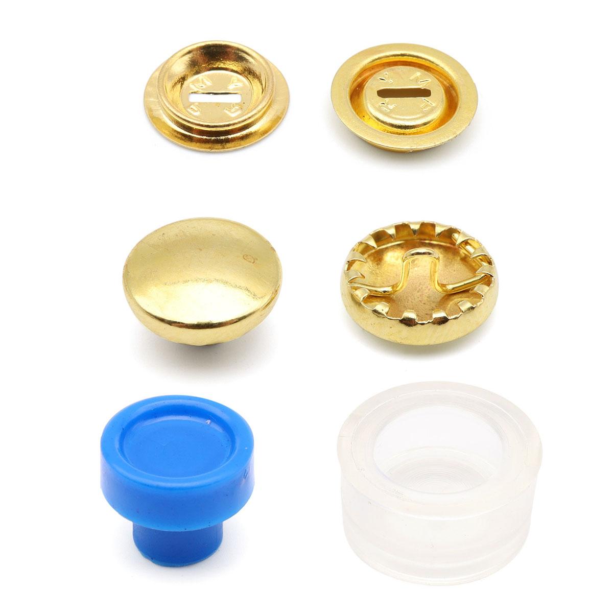 323214 Пуговицы для обтягивания тканью с инстр., 11 мм, упак./7 шт., Prym