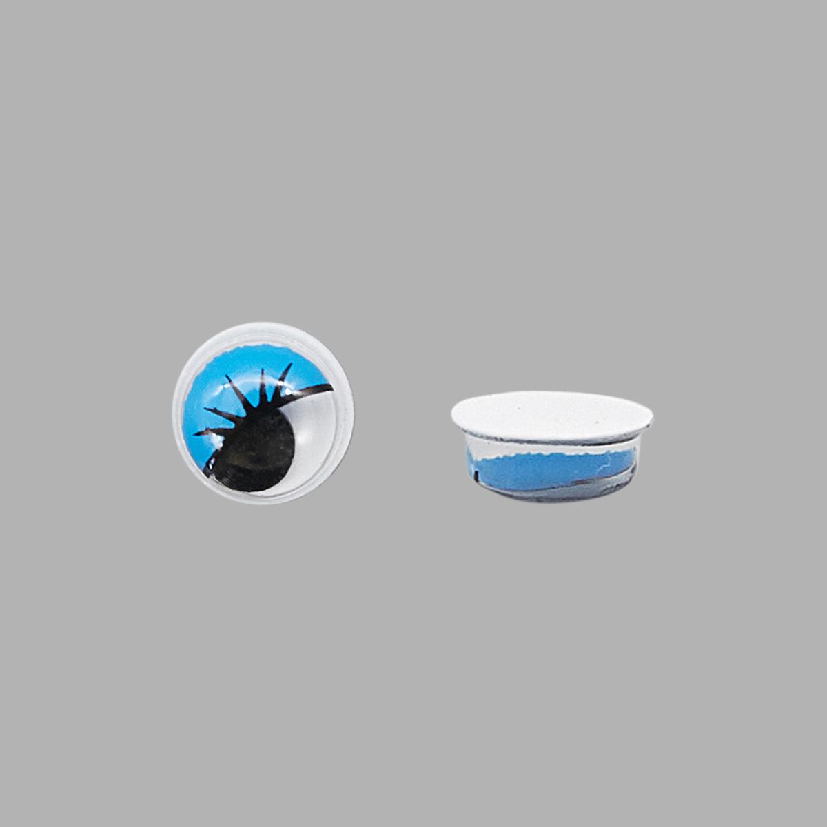 Глазки бегающие (фиксируются при помощи клея)