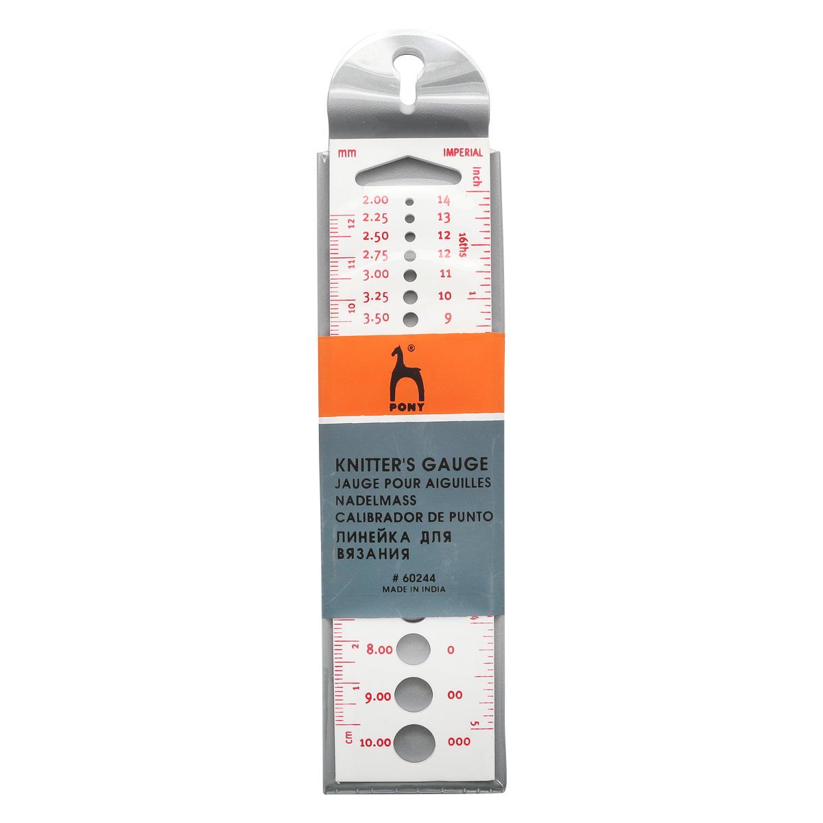60244 Линейка для измер. диаметра спиц PONY