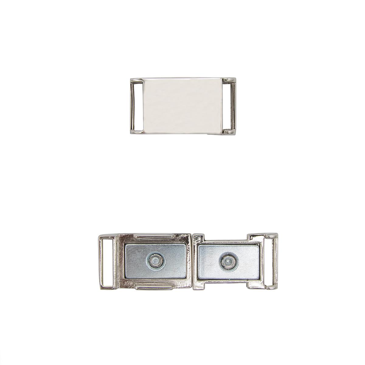 62160 Пряжка-застежка магнитная 10мм ник.мет. ГР