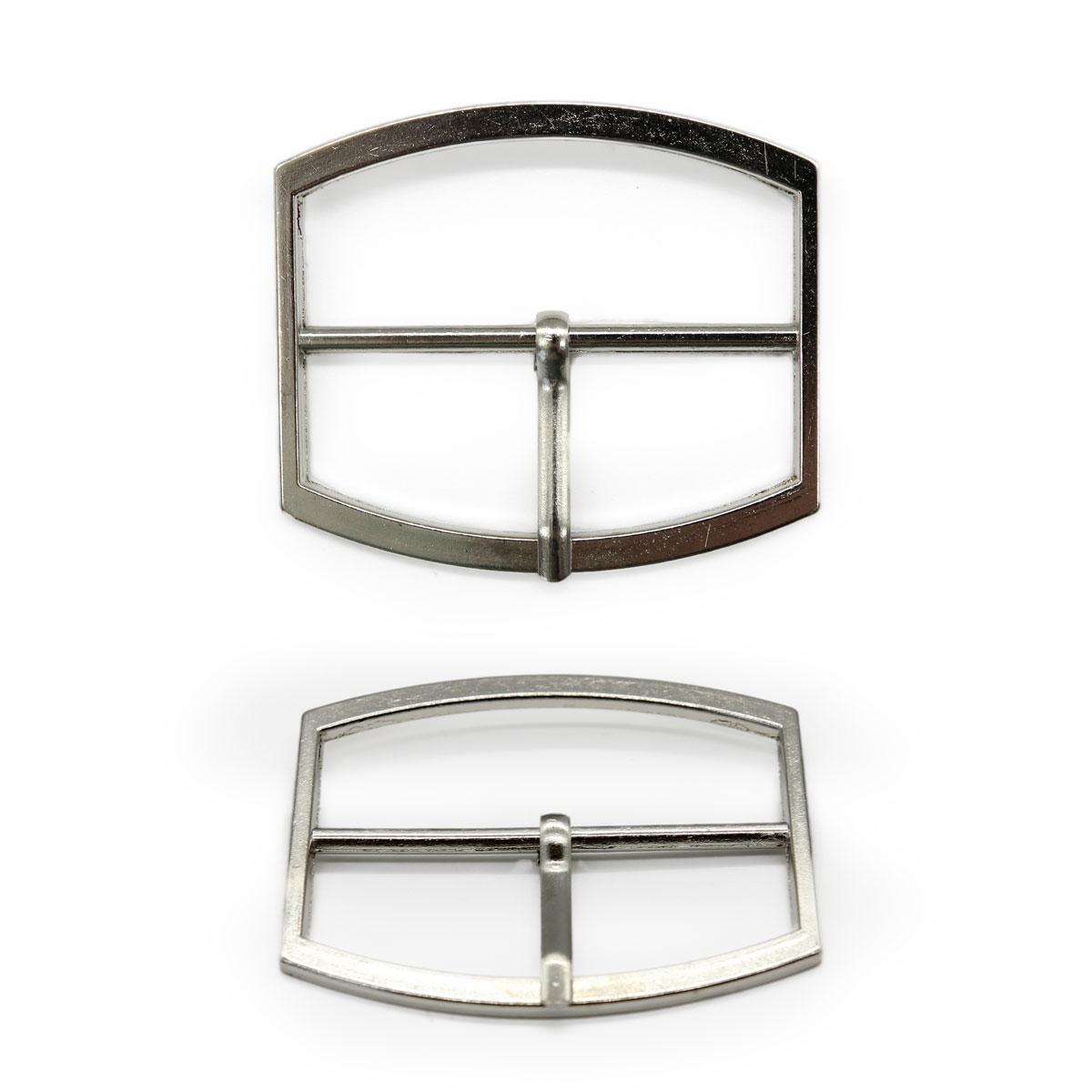 0321-8014 Пряжка, никель, 50 мм
