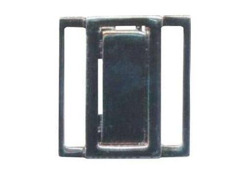 Пряжка-застежка 20мм никель 69032