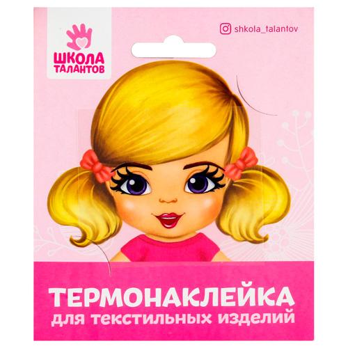 4050102 Термонаклейка для декорирования 'Кукла Вика', 6,5*6,3 см