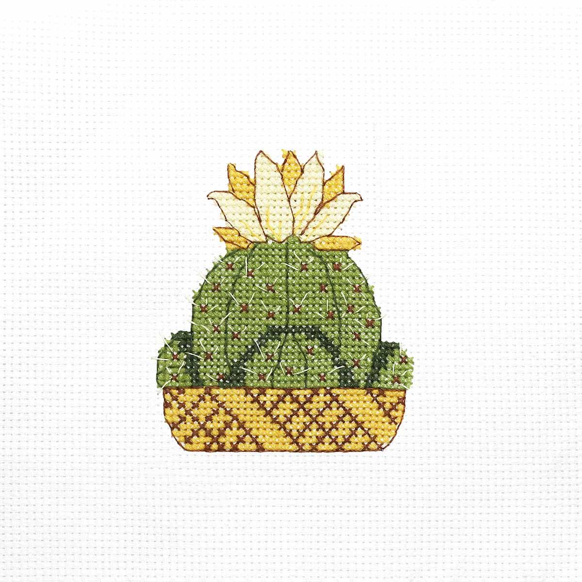 К-355 Набор для вышивания крестом Созвездие ' Цветок саванны' 7,5*8,5см