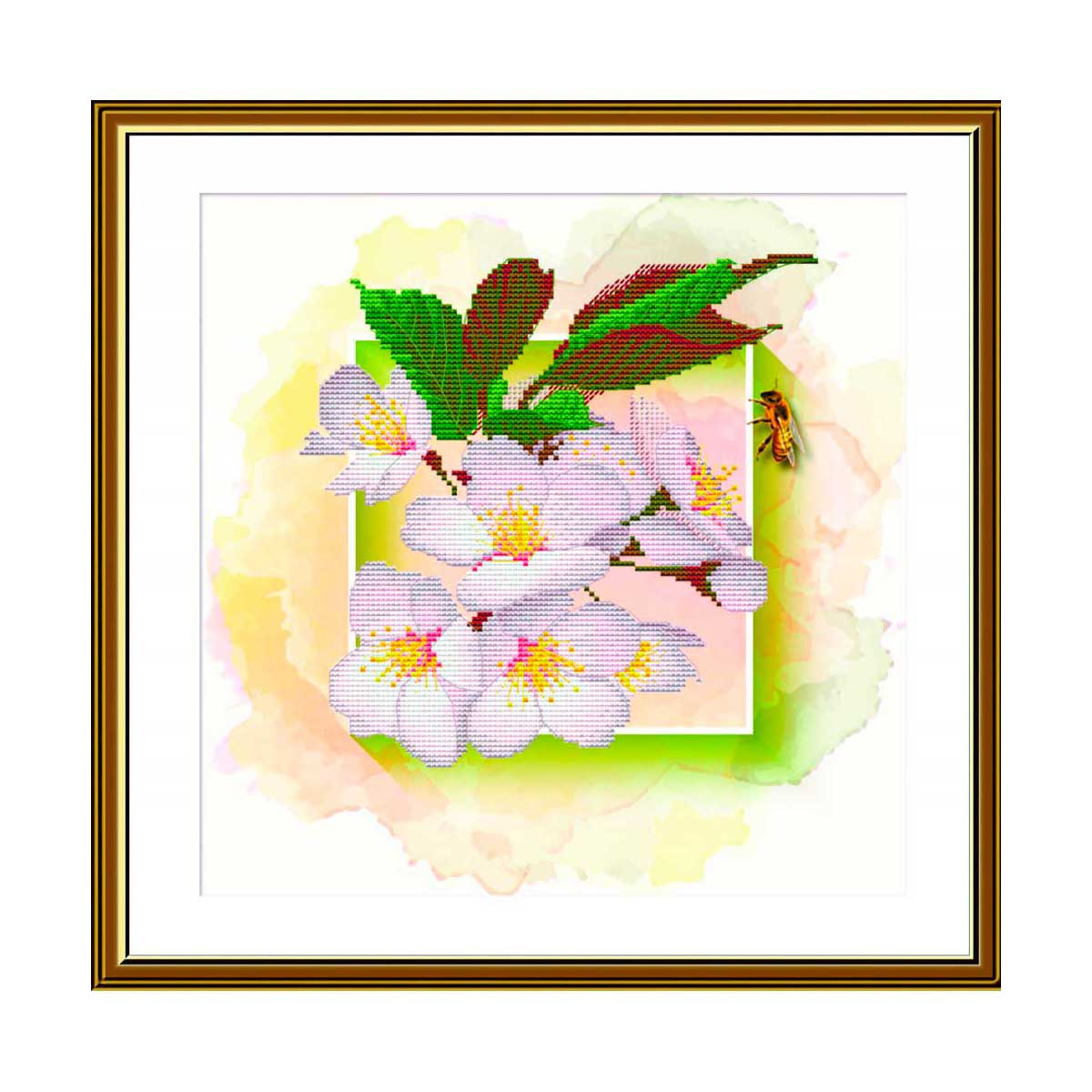 СВ4501 Набор для вышивания 'Фруктовый сад. Слива'25 x 25 см