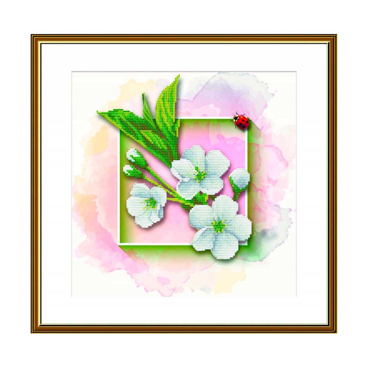 СВ4502 Набор для вышивания 'Фруктовый сад. Яблоня'25 x 25 см