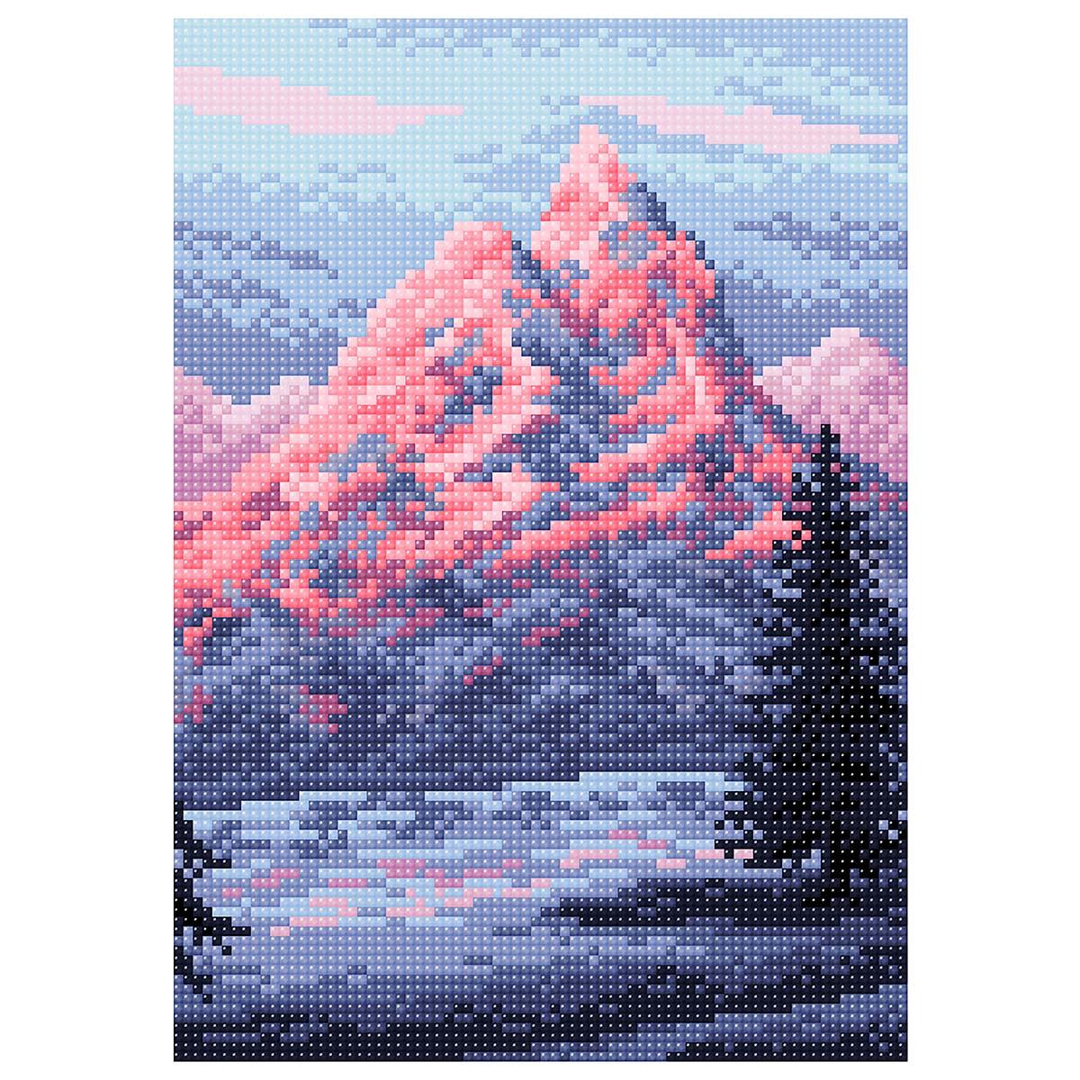 МС 046 Алмазная мозаика 'Эверест'19*27см Brilliart