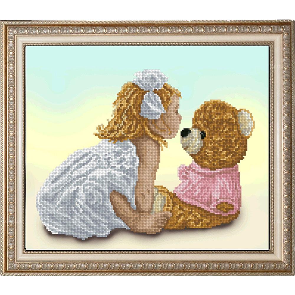 10414 Набор для вышивания Краса и творчество 'Моя подружка Маша 1' 38,4*25,4 см
