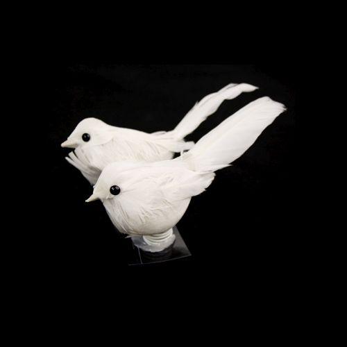 Украшение Белые птички, 2шт SCB26002001