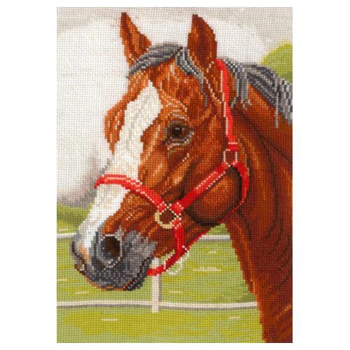 Г-05 Набор для вышивания 'Горячий конь', 18*26 см