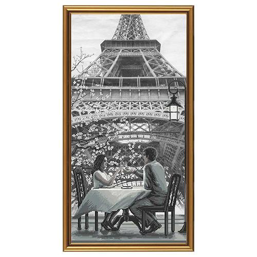 AC6009 Набор для вышивания 'Нова Слобода' 'Париж - город любви. Молодость', 30x60 см