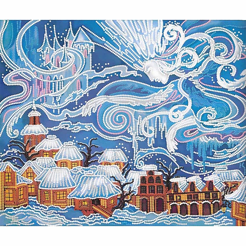 ДК4029 Набор для вышивания бисером 'Нова Слобода' 'Снежная королева', 30*44 см