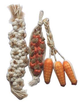 AM0101099 Набор связок овощей (иск.мат.)