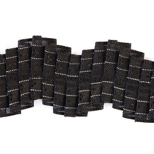 Тесьма 2010155 *2м (черный) фото