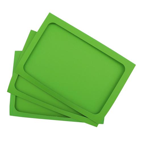 Набор тройных открыток с окошком 14*20 см 3шт арт. card3 (F)
