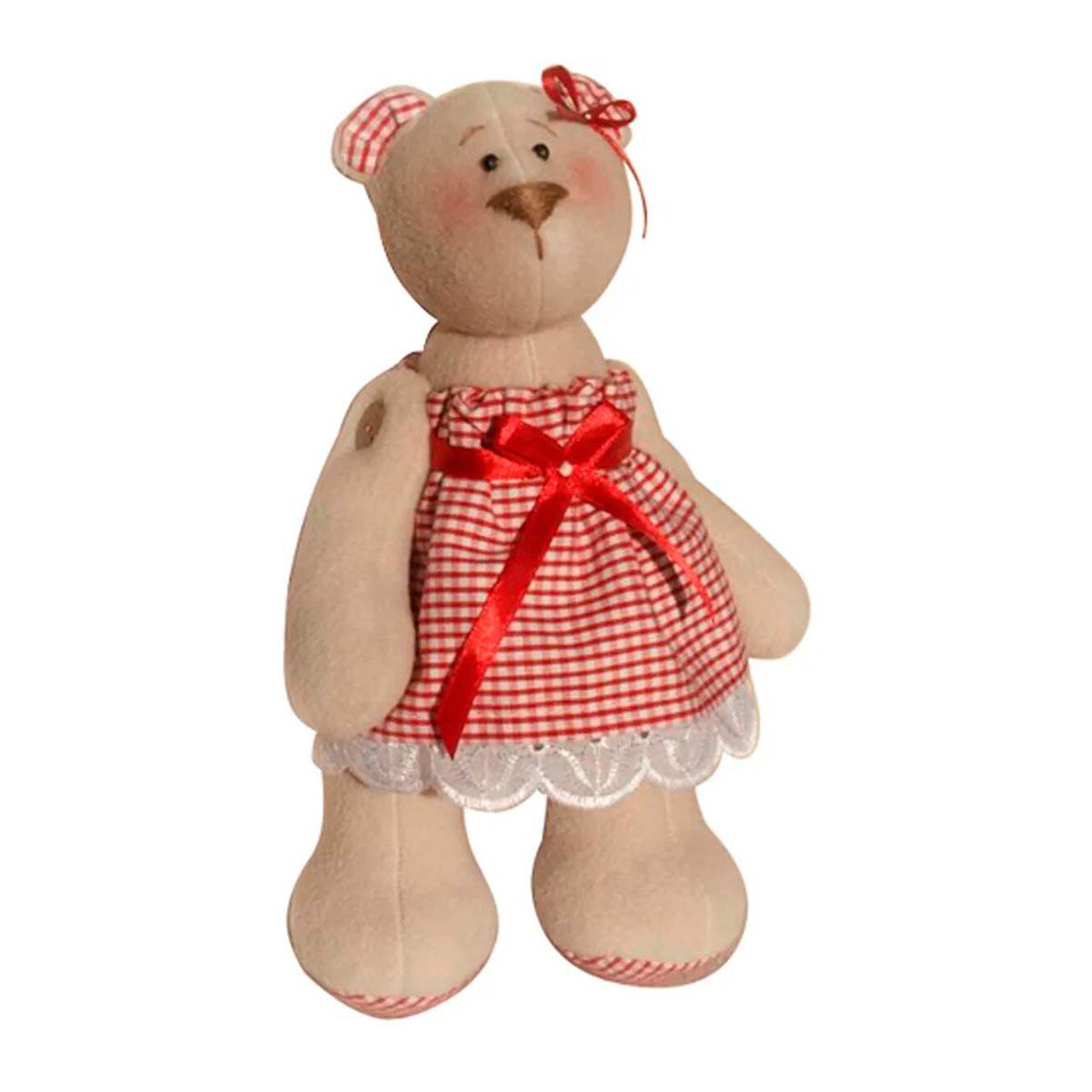 В003 Набор для изготовления текстильной игрушки 23см 'Bear`s Story' (Ваниль) фото
