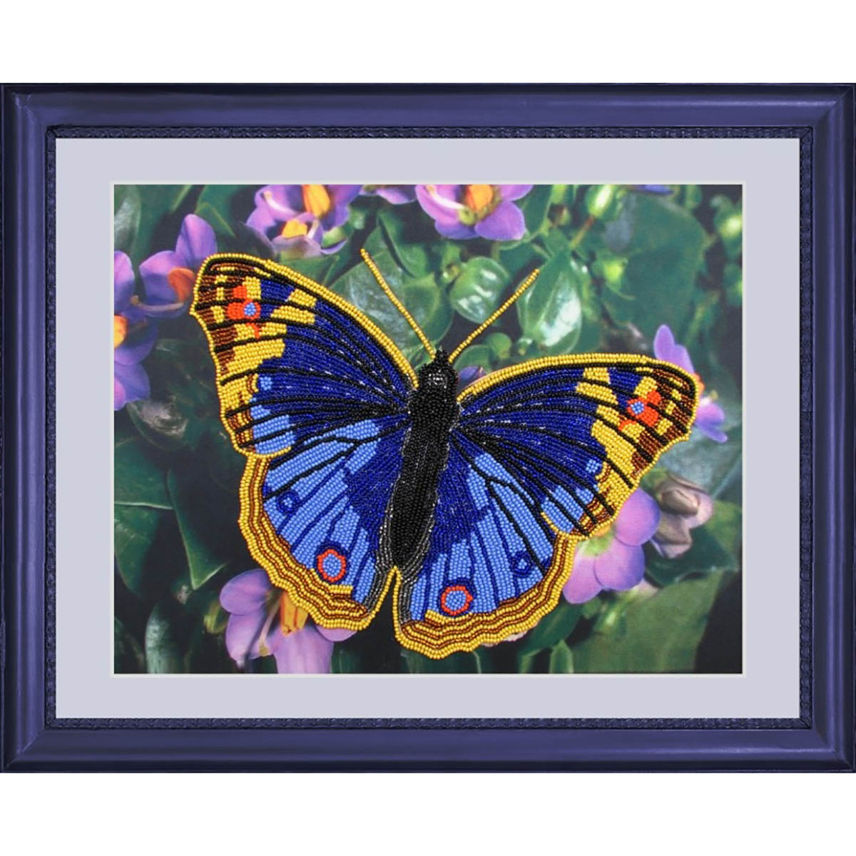 101 Набор для вышивания бисером Butterfly 'Бабочка', 25*32 см фото