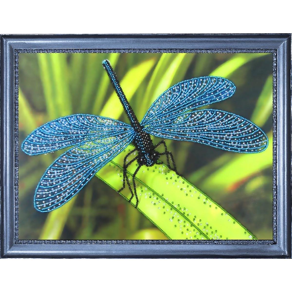 105 Набор для вышивания бисером Butterfly 'Стрекоза', 22*30 см