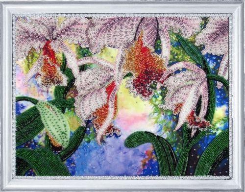 230 Набор для вышивания бисером 'Сияние орхидей'