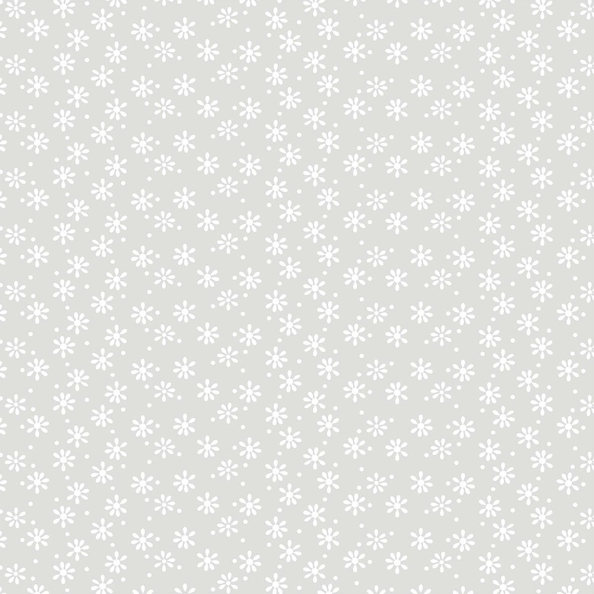 К104 Калька декоративная 'Ромашки', 30,5*30,5 см, упак./3 шт.
