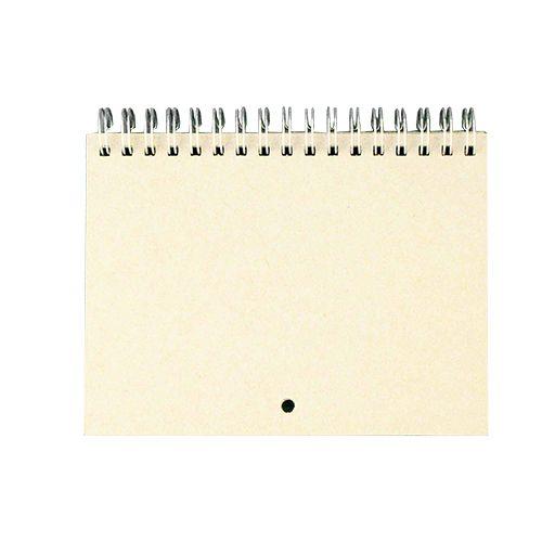 КП001-С Заготовка для календаря на серебряной пружине, А6, 7 листов