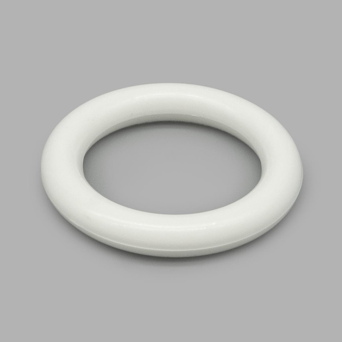711 Кольцо для карнизов, белый, d=55/37 мм, упак./50 шт.