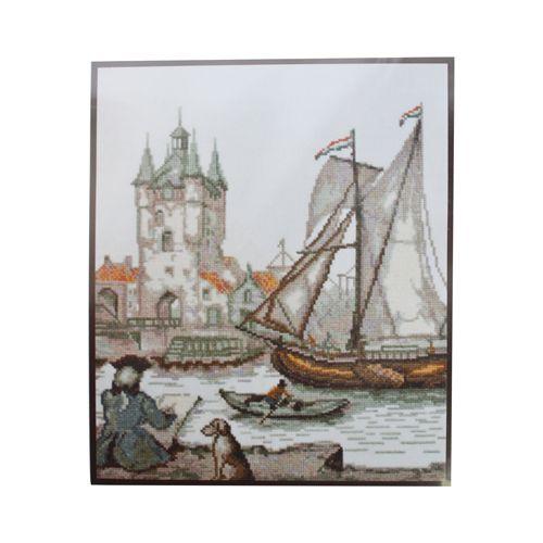 07.009 Набор для вышивания 'Палитра' 'Голландский художник', 23*26 см