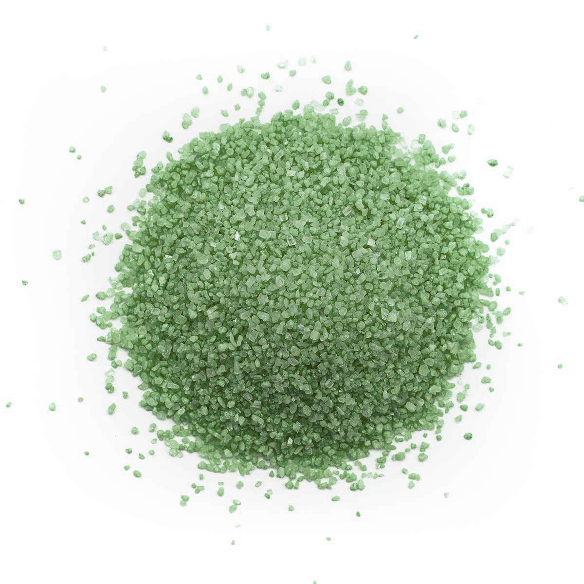 Песок для декор. работ (500гр.) (121 зеленый) фото