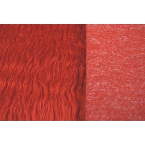 М-1015 Мех 50см*56см (+/- 1см) красный