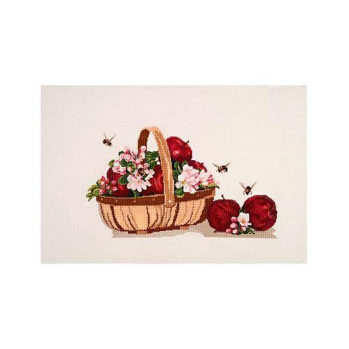 1151 Набор для вышивания Alisena 'Натюрморт с яблоками', 38*22 см