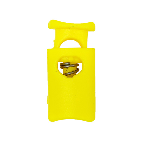 203-М Фиксатор (стопор) 'Цилиндр' d=4,5мм, 19*9мм, ПП (желтый) фото