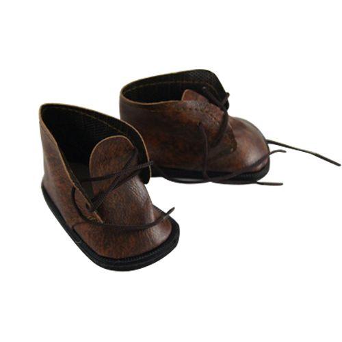 Ботиночки для кукол, коричневый, 7 см, 1 пара