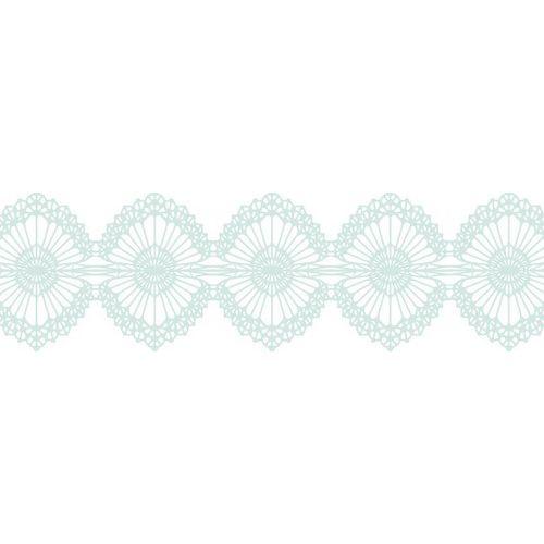 Бумажный скотч с принтом Воздушное кружево 15мм*8м SCB490006