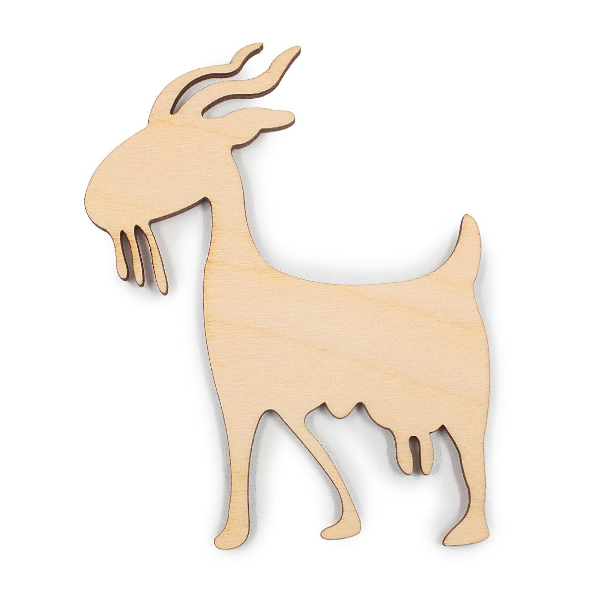 L-202 Деревянная заготовка 'Плодовитая коза', 10*8 см, 'Астра'