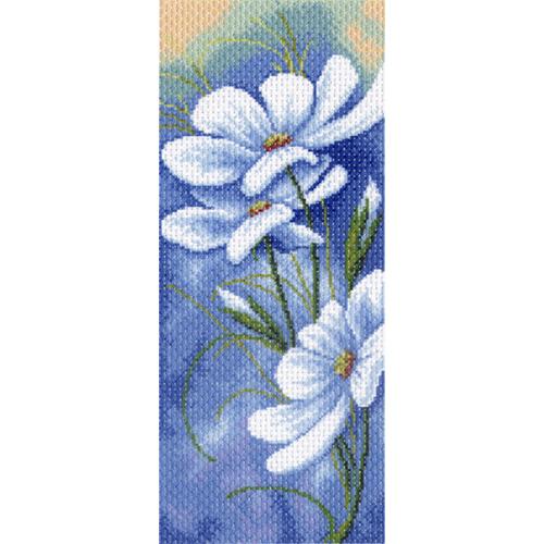 1333 Канва с рисунком 'Матренин посад' 'Вечерний блюз', 24*47 см