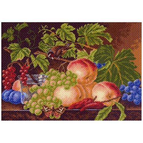 1002 Канва с рисунком 'Матренин посад' 'Воспоминание об осени', 37*49 см