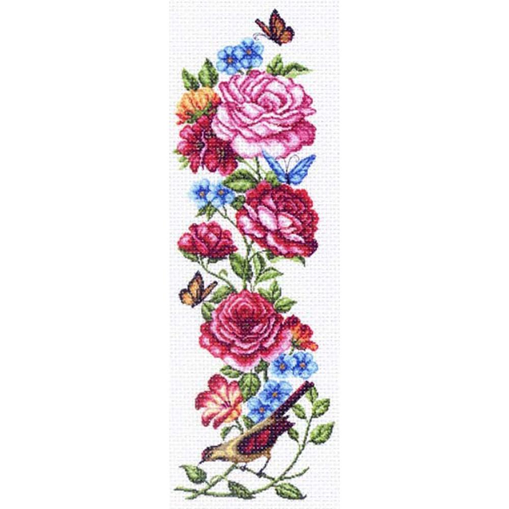 1366 Канва с рисунком Матренин посад 'Куплеты лета2'40*90см