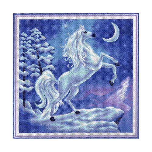 1034 Канва с рисунком 'Матренин посад' 'Волшебство', 41*41 см