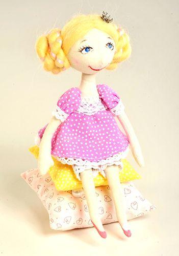ПСН-903 Набор для изготовления текстильной игрушки 'Принцесса на горошине', 20 см, 'Перловка'