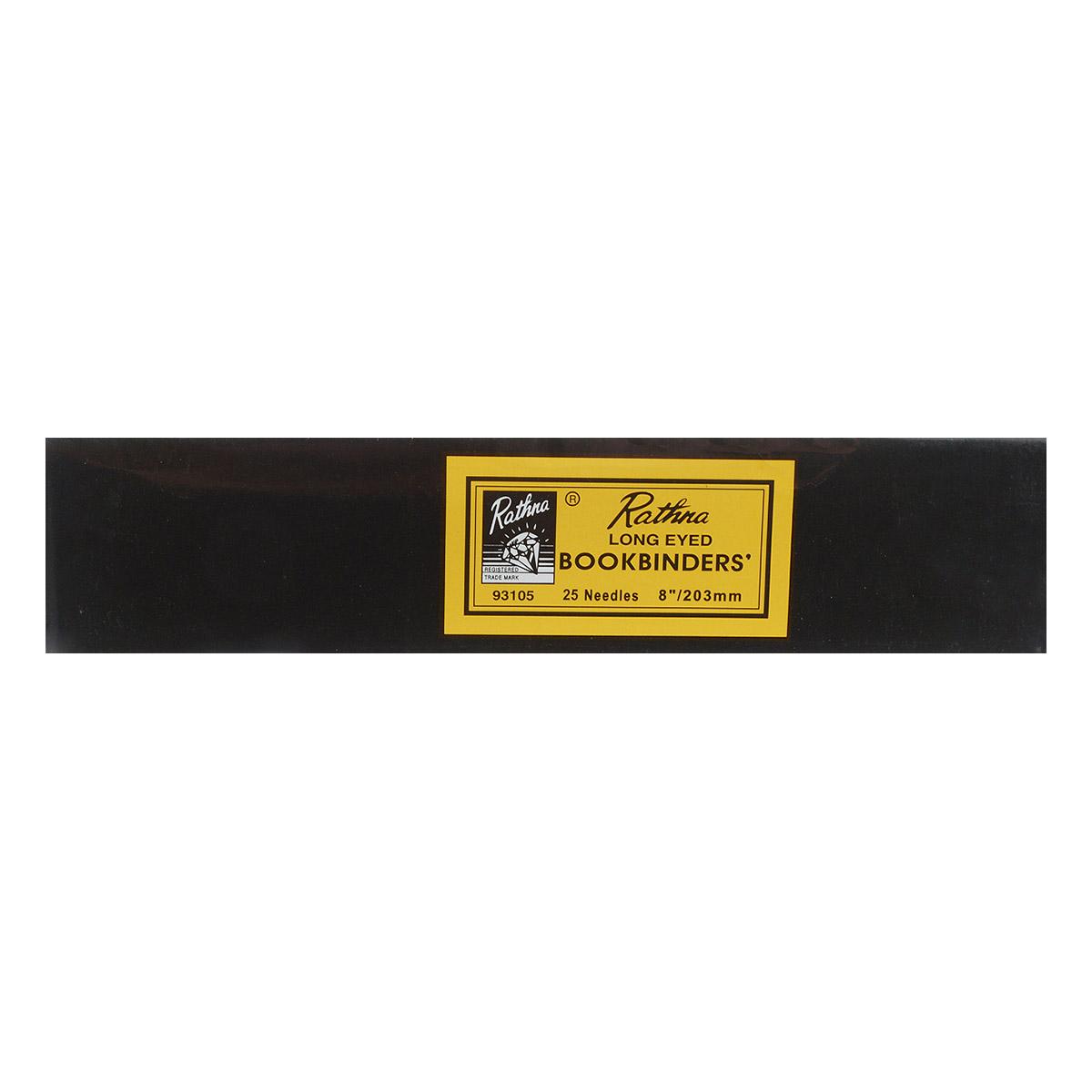 93105 Иглы для переплетных работ и грубых тканей супер длинные №8 (25 шт) PONY