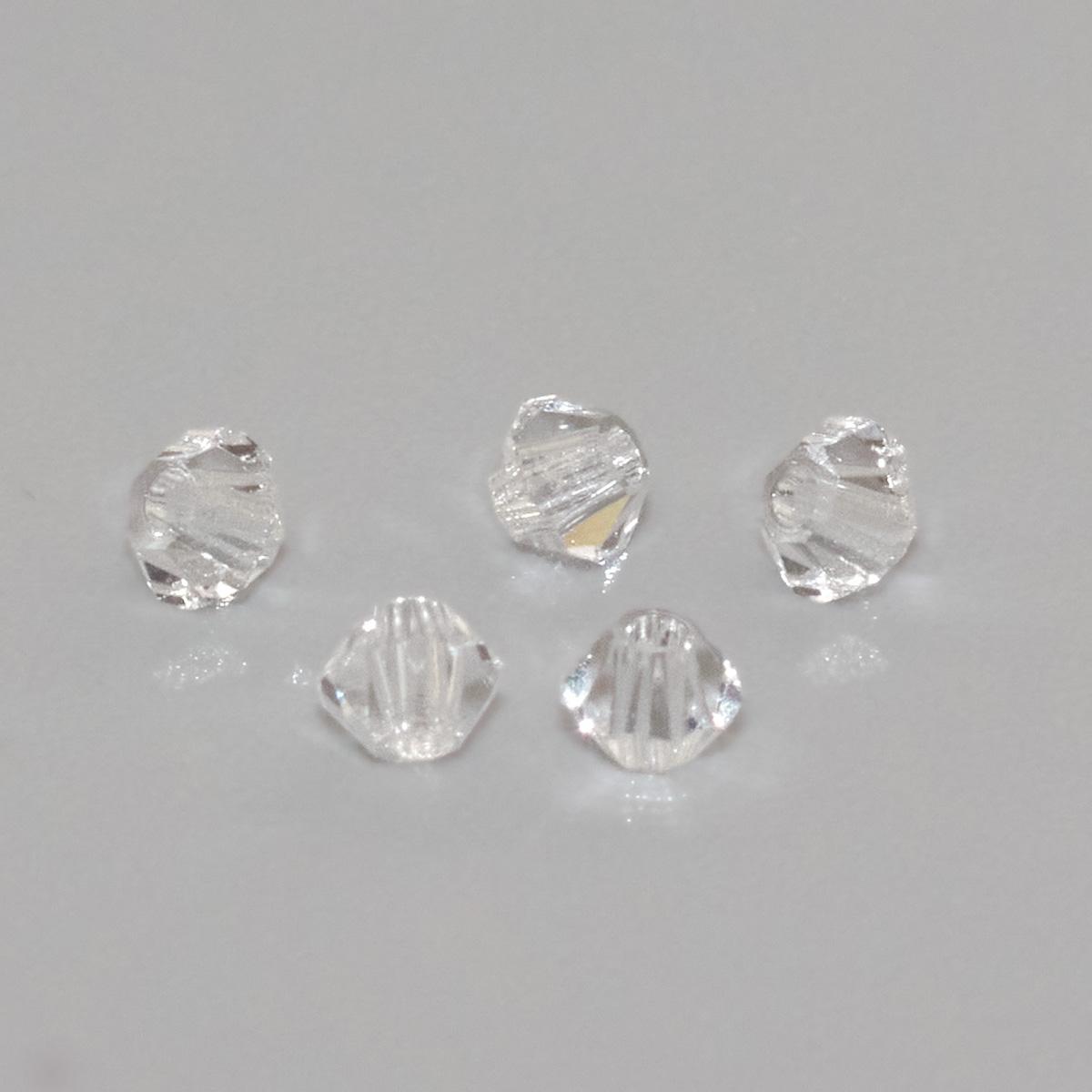 451-69-302 Бусины Биконус Crystal 2,4x3мм. 50 шт. Preciosa