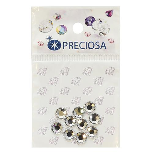 438-02-302 Стразы термоклеевые Цветок Crystal SS34 10 шт. Preciosa